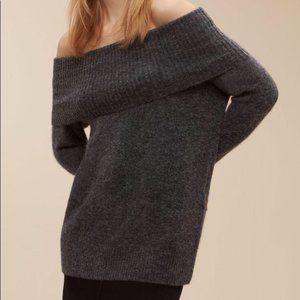 Aritzia Wilfred Free Faretta Merino Wool Sweater